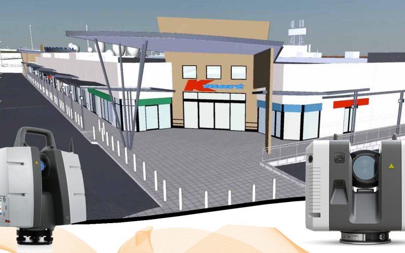 3D Laser Scanner untuk Renovasi Pusat Perbelanjaan