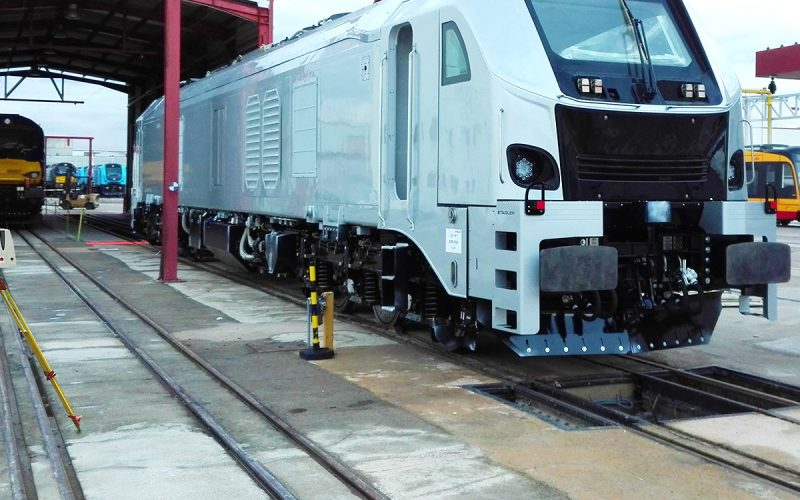 3D Laser Scanner untuk Quality Control Kereta Api